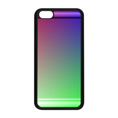 3d Rgb Glass Frame Apple Iphone 5c Seamless Case (black) by Simbadda
