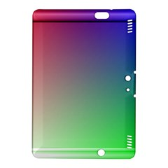 3d Rgb Glass Frame Kindle Fire Hdx 8 9  Hardshell Case by Simbadda