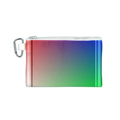 3d Rgb Glass Frame Canvas Cosmetic Bag (s) by Simbadda