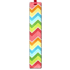 Colorful Background Of Chevrons Zigzag Pattern Large Book Marks by Simbadda