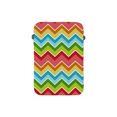 Colorful Background Of Chevrons Zigzag Pattern Apple Ipad Mini Protective Soft Cases by Simbadda