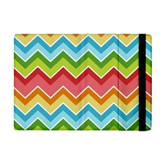 Colorful Background Of Chevrons Zigzag Pattern Ipad Mini 2 Flip Cases by Simbadda