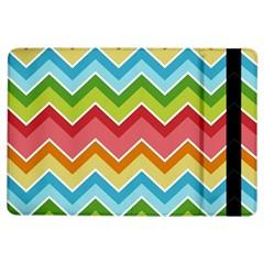 Colorful Background Of Chevrons Zigzag Pattern Ipad Air Flip by Simbadda