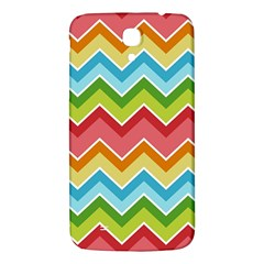 Colorful Background Of Chevrons Zigzag Pattern Samsung Galaxy Mega I9200 Hardshell Back Case by Simbadda