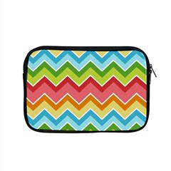 Colorful Background Of Chevrons Zigzag Pattern Apple Macbook Pro 15  Zipper Case