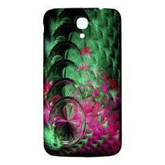 Pink And Green Shapes Make A Pretty Fractal Image Samsung Galaxy Mega I9200 Hardshell Back Case by Simbadda