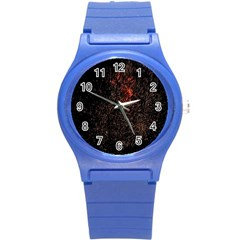 July 4th Fireworks Party Round Plastic Sport Watch (s) by Simbadda