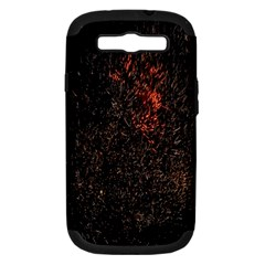 July 4th Fireworks Party Samsung Galaxy S Iii Hardshell Case (pc+silicone) by Simbadda