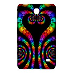 Fractal Drawing Of Phoenix Spirals Samsung Galaxy Tab 4 (7 ) Hardshell Case  by Simbadda