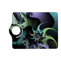 Fractal Image With Sharp Wheels Kindle Fire Hd (2013) Flip 360 Case by Simbadda
