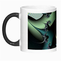 Fractal Image With Sharp Wheels Morph Mugs by Simbadda