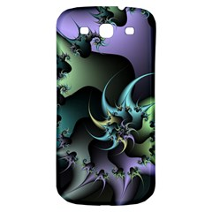 Fractal Image With Sharp Wheels Samsung Galaxy S3 S Iii Classic Hardshell Back Case by Simbadda