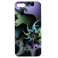Fractal Image With Sharp Wheels Apple Iphone 5 Hardshell Case With Stand by Simbadda