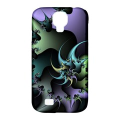 Fractal Image With Sharp Wheels Samsung Galaxy S4 Classic Hardshell Case (pc+silicone) by Simbadda