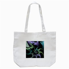 Fractal Image With Sharp Wheels Tote Bag (white) by Simbadda