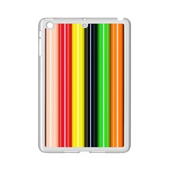 Stripes Colorful Striped Background Wallpaper Pattern Ipad Mini 2 Enamel Coated Cases by Simbadda