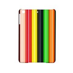 Stripes Colorful Striped Background Wallpaper Pattern Ipad Mini 2 Hardshell Cases by Simbadda