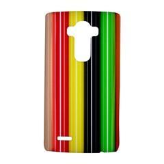Stripes Colorful Striped Background Wallpaper Pattern Lg G4 Hardshell Case by Simbadda