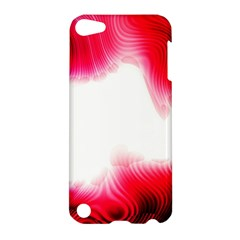 Abstract Pink Page Border Apple Ipod Touch 5 Hardshell Case by Simbadda