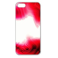 Abstract Pink Page Border Apple Seamless Iphone 5 Case (clear) by Simbadda