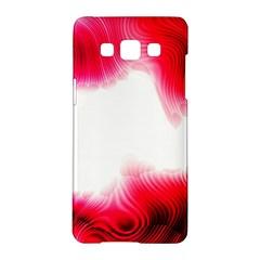 Abstract Pink Page Border Samsung Galaxy A5 Hardshell Case  by Simbadda