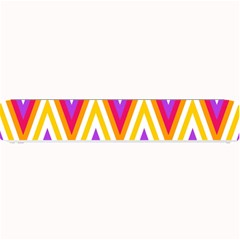Colorful Chevrons Zigzag Pattern Seamless Small Bar Mats by Simbadda
