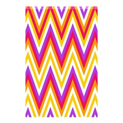 Colorful Chevrons Zigzag Pattern Seamless Shower Curtain 48  X 72  (small)  by Simbadda