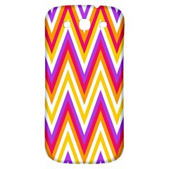 Colorful Chevrons Zigzag Pattern Seamless Samsung Galaxy S3 S Iii Classic Hardshell Back Case by Simbadda