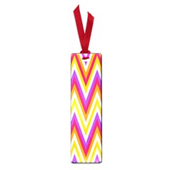 Colorful Chevrons Zigzag Pattern Seamless Small Book Marks by Simbadda