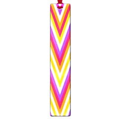 Colorful Chevrons Zigzag Pattern Seamless Large Book Marks by Simbadda