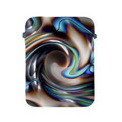 Twirl Liquid Crystal Apple Ipad 2/3/4 Protective Soft Cases by Simbadda