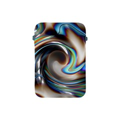 Twirl Liquid Crystal Apple Ipad Mini Protective Soft Cases by Simbadda
