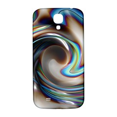 Twirl Liquid Crystal Samsung Galaxy S4 I9500/i9505  Hardshell Back Case by Simbadda