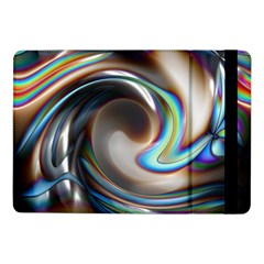 Twirl Liquid Crystal Samsung Galaxy Tab Pro 10 1  Flip Case by Simbadda