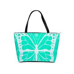 Butterfly Cut Out Flowers Shoulder Handbags by Simbadda