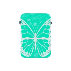 Butterfly Cut Out Flowers Apple Ipad Mini Protective Soft Cases by Simbadda