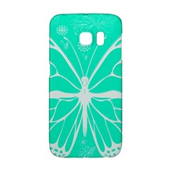 Butterfly Cut Out Flowers Galaxy S6 Edge