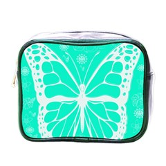 Butterfly Cut Out Flowers Mini Toiletries Bags by Simbadda
