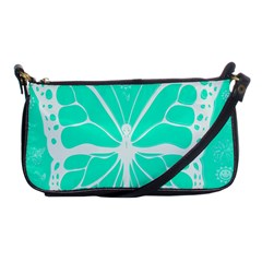 Butterfly Cut Out Flowers Shoulder Clutch Bags by Simbadda