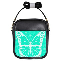 Butterfly Cut Out Flowers Girls Sling Bags by Simbadda