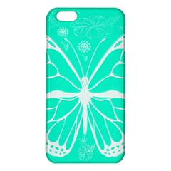 Butterfly Cut Out Flowers Iphone 6 Plus/6s Plus Tpu Case by Simbadda