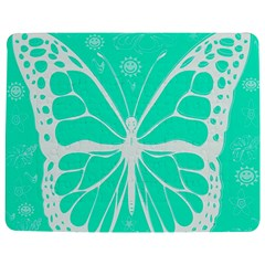 Butterfly Cut Out Flowers Jigsaw Puzzle Photo Stand (rectangular) by Simbadda