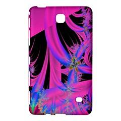 Fractal In Bright Pink And Blue Samsung Galaxy Tab 4 (8 ) Hardshell Case  by Simbadda