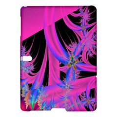 Fractal In Bright Pink And Blue Samsung Galaxy Tab S (10 5 ) Hardshell Case  by Simbadda