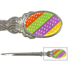 Colorful Easter Ribbon Background Letter Openers by Simbadda