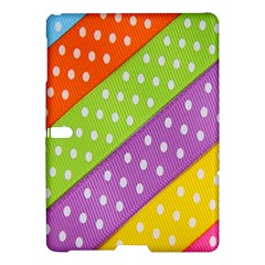 Colorful Easter Ribbon Background Samsung Galaxy Tab S (10 5 ) Hardshell Case