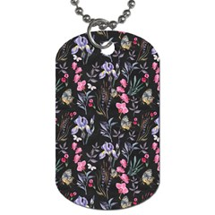 Wildflowers I Dog Tag (two Sides) by tarastyle