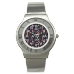 Wildflowers I Stainless Steel Watch