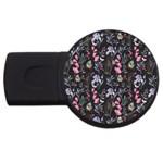 Wildflowers I USB Flash Drive Round (4 GB)