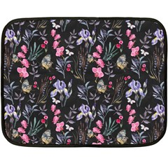 Wildflowers I Double Sided Fleece Blanket (mini)  by tarastyle